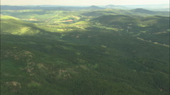 AERIAL United States-Black Hills National Forest Stock Footage