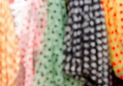 Blur fabric - stock photo