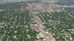 AERIAL United States-Sioux Falls Stock Footage