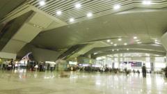Guangzhou South Railway Station Stock Footage
