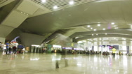 Stock Video Footage of Guangzhou South Railway Station