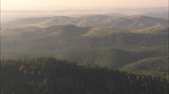 AERIAL United States-Custer State Park - stock footage