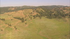 AERIAL United States-Flight Over Hill In Custer State Park - stock footage