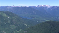 AERIAL United States-Bull Lake Stock Footage