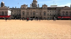 Horse Guards Parade Square.  Westminster, London, England, UK. Stock Footage