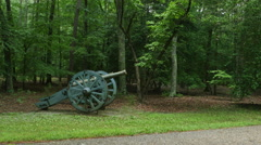 3902 French Cannon During Revolutionary War, 4K Stock Footage