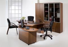 Set OF Office Furniture - stock photo