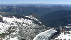 AERIAL United States-Bob Marshall Wilderness Stock Footage