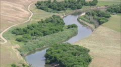 AERIAL United States-Smith River Stock Footage