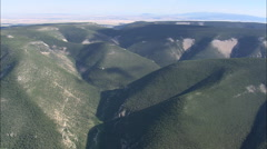 AERIAL United States-Little Belt Mountains Stock Footage