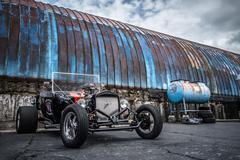 Hot Rod car - stock photo