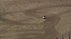 AERIAL United States-Barrel Racing Stock Footage