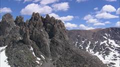 AERIAL United States-Granite Peak - stock footage