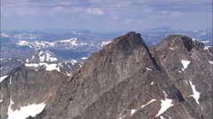 Stock Video Footage of AERIAL United States-Granite Peak