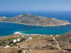 Amorgos island landscape - stock photo