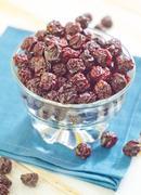 dry cherry - stock photo