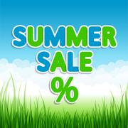 Summer sale Stock Illustration