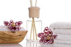 aroma therapy objects - stock photo