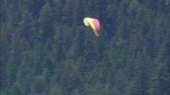AERIAL United States-Hang Gliders Stock Footage