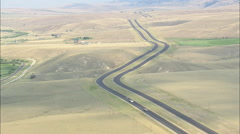 AERIAL United States-Interstate 15 To Butte Stock Footage
