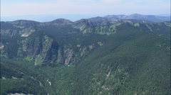 AERIAL United States-Western Edge Of Lolo National Forest Stock Footage