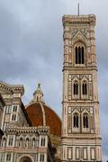 Giotto's Campanile, Florence, Italy - stock photo