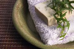 spa. herbal medicine - stock photo