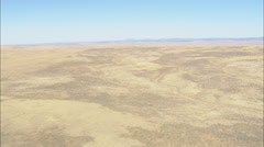 AERIAL United States-Thunder Basin National Grassland Stock Footage