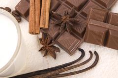 Chocolate spa Stock Photos