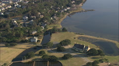 AERIAL United States-Corolla Stock Footage