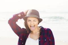 Smile everyday Stock Photos