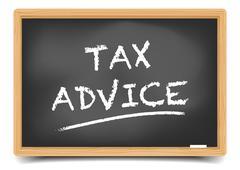 Tax Advice Stock Illustration