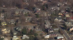 AERIAL United States-Ashville Historic District Stock Footage