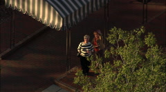AERIAL United States-Holly Inn At Pinehurst Resort Stock Footage