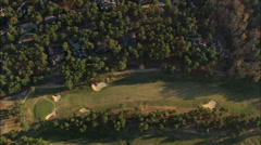 AERIAL United States-Pinehurst Golf Course Stock Footage