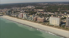 AERIAL United States-Mayrtle Beach Stock Footage