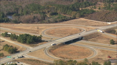 AERIAL United States-Route 95 Stock Footage