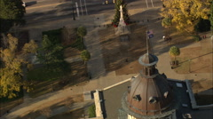 AERIAL United States-South Carolina State House Stock Footage