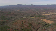 AERIAL United States-Fly Over Table Rock State Park Stock Footage