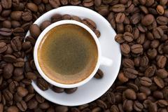 Stock Photo of aroma coffee