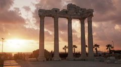 Apollo Temple Time Lapse - stock footage