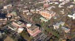 AERIAL United States-University Of Georgia Stock Footage