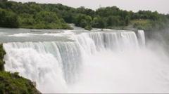 Niagara Falls Waterfall Stock Footage