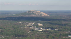 AERIAL United States-Stone Mountain Stock Footage