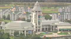 AERIAL United States-World Golf Village And Golf Hall Of Fame - stock footage