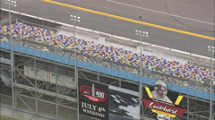 AERIAL United States-Daytona International Speedway - stock footage