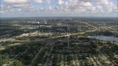 Stock Video Footage of AERIAL United States-Orlando