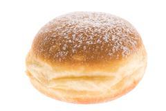 Doughnut on white background Stock Photos