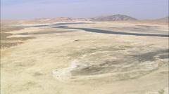 AERIAL United States-Flight Across Sentinel Rocks Stock Footage