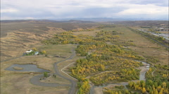 AERIAL United States-Bear River State Park Stock Footage